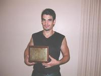 Pierre and his second Niket Rewal Award