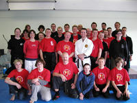 Students and Instructors at the 2005 MultiStyle Martial Arts Camp