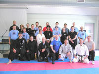 Participants at the 2006 Multistyle Martial Arts Camp