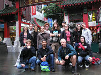 Like herding cats! - The Club members who visited Chinatown in Sydney finally got together for a photograph!
