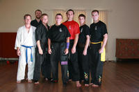 Those who helped make Jayne Sifu Hardy - thanks to students and Instructor from Zen Go Shu Karate!