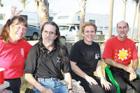 Pai Shinzan (2nd from left) and Grandmaster Guiffre (4th from left) at the 2009 Course in Florida.