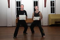 Simon and Daniel earned their promotions!