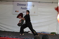 Fighting Fans - Sifu Elinor Jean