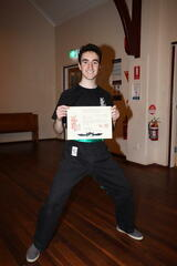 Alex Marziano - our new Green Sash student.